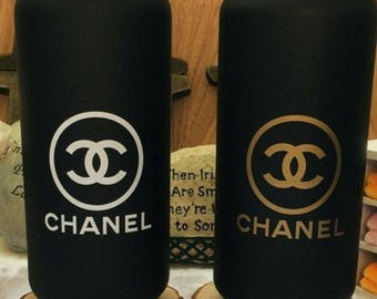 GOLD or SILVER Chanel VIP Gift 500ml Stainless Steel Thermos Vacuum Flask Bottle