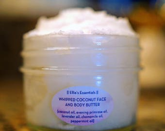 Whipped Coconut Face and Body Butter