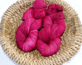 filisilk hand dyed lace yarn