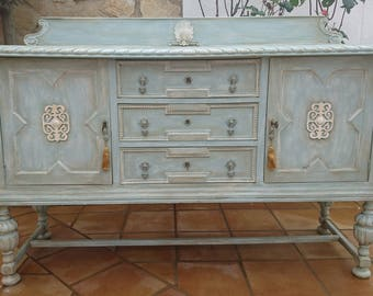 SOLD- Antique buffet dresser
