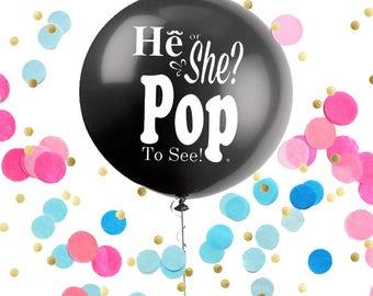 """Giant 36"""" Gender Reveal Balloon"""