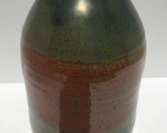 Green and Brown Vase