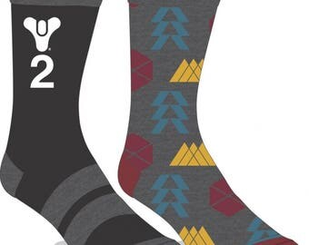Destiny 2 Socks (New, Free Shipping For Additional Products, 2 Pairs)