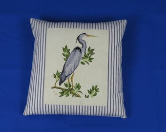 Hand Crafted Embroidery Pillow -