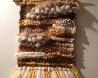 70 - Weaving wall decorative original - handmade - unique Creation
