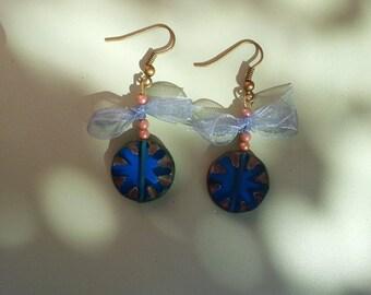 Beaded boho earrings