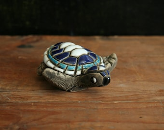 Artesania Rinconada Sea Turtle (Blue)