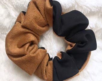 Black & Suede Scrunchies (3 options)