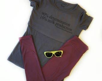 Latation shirt,New Nursing Shirt, Breastfeeding Shirt, Nursing tops for breastfeeding, Maternity Clothes, Maternity T Shirt, Pregnancy Shirt
