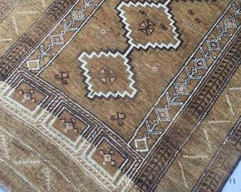 "3'x5'3"" Vintage Persian Rug"