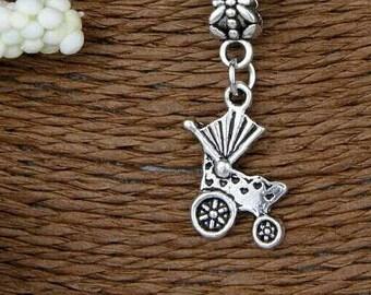 Sweet Baby Carriage Charm Bracelet