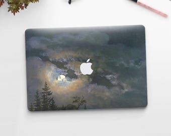 "Johan Dahl, ""A Cloud and Landscape Study by Moonlight"". Macbook Pro 15 skin, Macbook Pro 13 skin, Macbook 12 skin. Macbook Air skin."