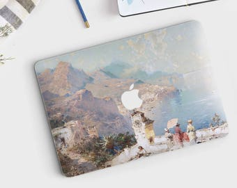 "F. Unterberger, ""The View from the Balcony"". Macbook Pro 15 skin, Macbook Pro 13 skin, Macbook 12 skin. Macbook Pro skin. Macbook Air skin."
