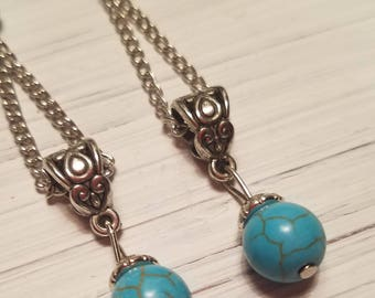Ornate Drop Earrings
