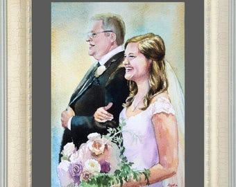 couple portrait Family portrait Couple Portrait Custom painting from photos Baby Portrait wedding portrait family portraits