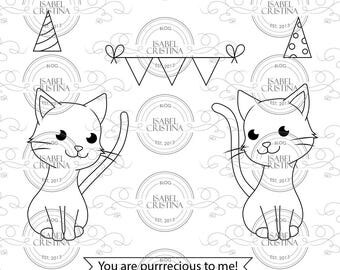 You are purrrecious - IsabelCristinsStamps