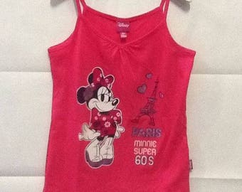 Sleeveless t-shirt t-shirt Minnie 5 years (110 cm) baby