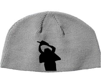 Texas Chainsaw Massacre Leatherface Slasher Killer Beanie Knitted Hat Cap Winter Clothes Horror Merch Massacre Christmas Black Friday