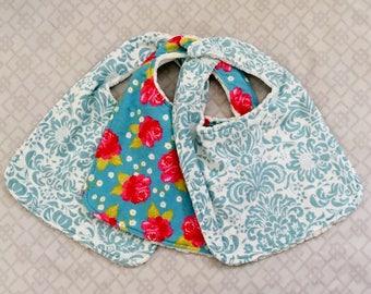 Newborn Bib and Burp Rag Set