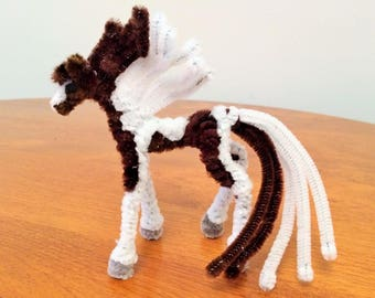 Pipe Cleaner Horse