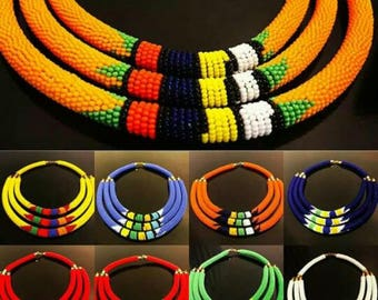 Kenyan masai beaded necklaces,african choker necklace,multicolour necklace,handcrafted beaded necklaces,African necklaces