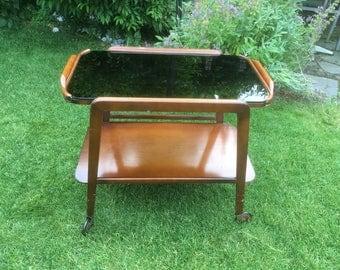 Vintage tea cart 50's vintage bar cart cart mid century