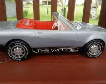 "Final markdown: Rare vintage grey Ken or Barbie Corvette, ""The Wedge,"" 1980s, Car, Barbie car"