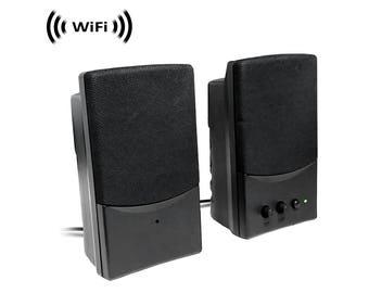 computer speakers clipart. wireless spy camera with wifi digital ip signal, recording \u0026 remote internet access (camera computer speakers clipart