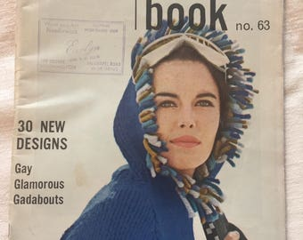 Vogue Vintage/Knitting Book no.63/1963/Gay,Glamorous,Gadabouts!