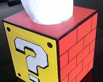 Mario Tissue Box Cover