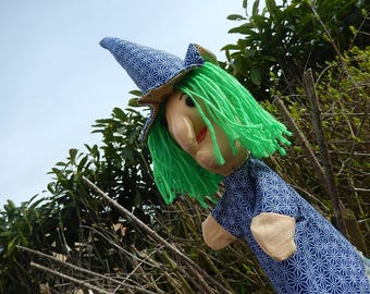 """Little witch"" puppet - only one"