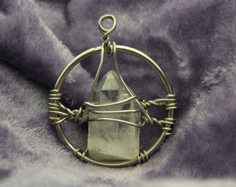 Illumination Quartz Crystal Pendant | 05