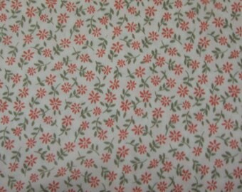 Simple Floral Knit Fabric, 1pc 60in W x 1.25 yard