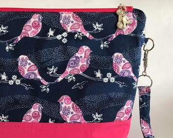 Songbird - Medium sized project bag for Knitting/Crochet