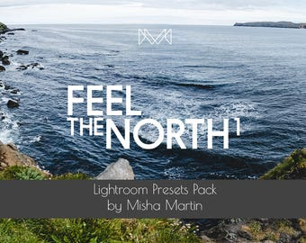 Feel The North 1 | Lightroom Presets Pack for Landscape Photography