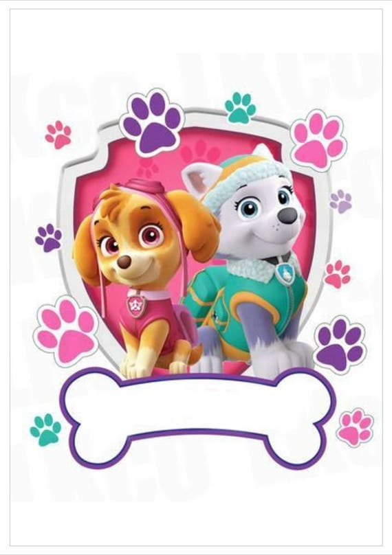 Paw Patrol Cake Toppers Etsy