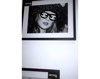 Chanel Shades 20x16 BLOCK FRAME
