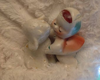 Vintage van tilligen Mary and lamb