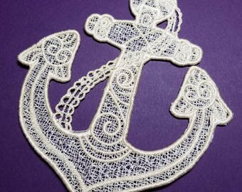 Anchor - Free Standing Lace - Machine Embroidery Design