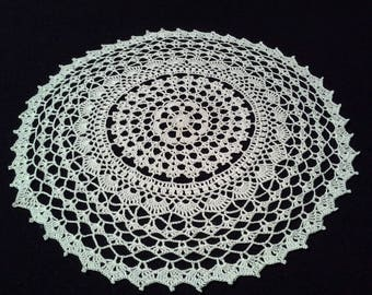 Crochet doily - Round doilies - Small doily - Medium doily - White doily - Home decor - Crochet doilies