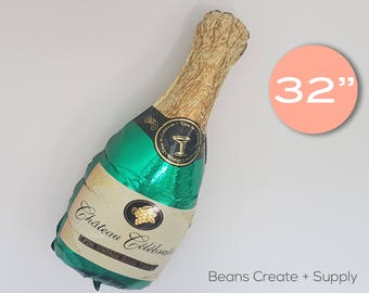 """Champaign Bottle Balloon 