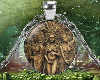 Tree Goddesses Pendant