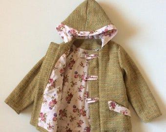 Children's duffle coat size 4