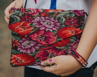 Bag forrado / handmade Mexican bag / handbag made in Chiapas/Bohemian handbag