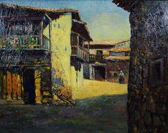 KOWALSKI I. I. (Russian -1839 -1937) Oil Painting