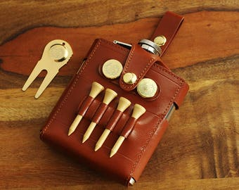 Personalized Engraved Golf Accessories with Flask