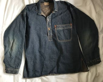 New Vintage 1800s Miner work shirt (remake by Duck Digger Warehouse&co)