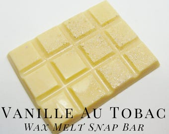 Soy Wax Melts, Vanille Au Tobac, Scented Wax Tart, Soy Wax, Home Fragrance,