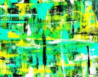Original Abstract Acrylic Painting, Prints, Fine Art, Wall Art