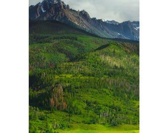Sneffels Wilderness - Colorado landscape photography by Harry Durgin
